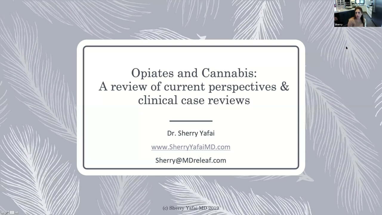 Narcotics and Cannabis: Current Perspectives and Case Presentations