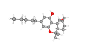 3D compound of 11-Hydroxytetrahydrocannabinol courtesy of PubChem.